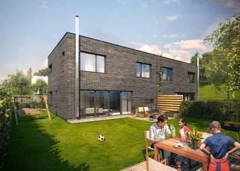 nové domy v Praze