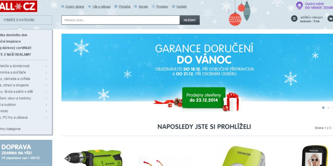 nespokojenost s mall.cz